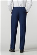 Occasions Blue Tailored Fit Trouser