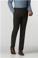 Green Donegal Tailored Trouser