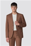 Tan Panama Slim Fit Suit