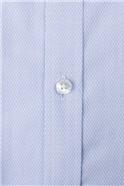 Blue Victor Textured Shirt