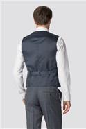 Blue Heritage Check Waistcoat