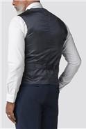 Navy Twill Regular Fit Performance Waistcoat