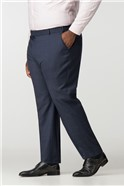 Big and Tall Navy Check Trouser