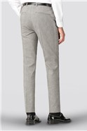 Skye Black White Check Trouser