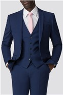 Occasions Blue Tailored Fit Suit