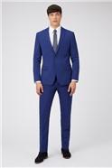 Cobalt Blue Slim Fit Prom Suit
