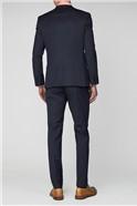 Navy Dot Slim Fit Suit