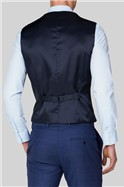Blue Jaspe Slim Fit Suit Trousers