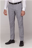 Ice Grey Tailored Fit Suit