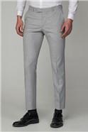 Cool Grey Melange Skinny Fit Suit Trouser