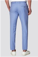 Branded Lilac Skinny Fit Suit Trousers