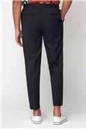 Midnight Structure Slim Relaxed Trousers