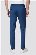 Slate Navy Blue Skinny Fit Formal Trousers