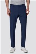 Branded Blue Slim Fit Formal Trousers