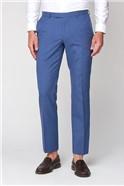 Dusky Blue Texture Tailored Fit Jacket