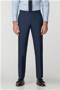 Bright Blue Panama Trousers