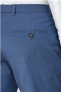 Pale Blue Formal Tailored Trousers
