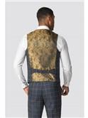 Roman Blue Check Slim Fit Suit