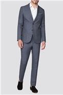 Slate Linen Slim Fit Suit