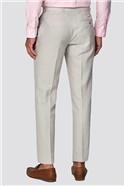 Stone Linen Regular Fit Trousers