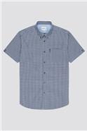 Signature Short Sleeved Gingham Shirt