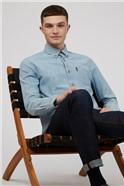 Dusky Blue Chambray Shirt