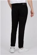 Straight Black Wash Jean