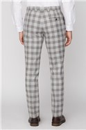 Grey Camel Check Tailored Fit Suit