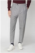 Black & White Check Slim Fit Trouser
