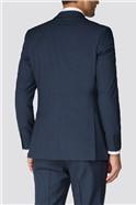 Branded Blue Mini Check Waistcoat