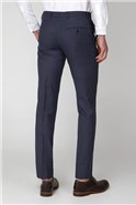 Airforce Pink Check Tailored Fit Trousers