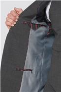 Grey Marl Texture Regular Fit Travel Waistcoat
