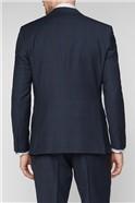 Navy & Red Checked Travel Waistcoat