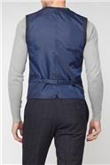 Deep Blue Check Super Slim Fit Suit