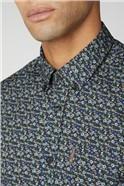 Long Sleeve Multi Colour Floral Shirt