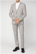 BS Signature Tailoring Mustard Puppytooth Slim Fit Suit Jacket