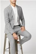 Cool Grey Broken Structure Camden Fit Trouser