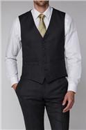 Charcoal Texture Waistcoat