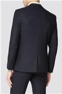 Charcoal Herringbone Slim Suit