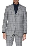 Grey Windowpane Heritage Tweed Suit