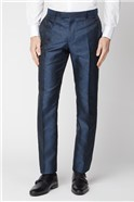Blue Tonal Paisley Trouser