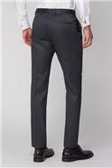 Charcoal Texture Slim Trouser