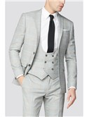 Grey Blue Check Two Piece Suit