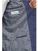Navy Speckle Texture Slim Fit Suit
