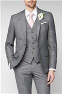 Grey Regular Fit Suit