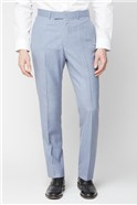 Pale Blue Regular Fit Suit