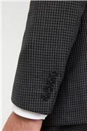 Grey Tonal Puppytooth Soho Waistcoat