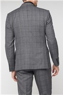 Grey with Purple Jaspe Soho Suit Waiscoat