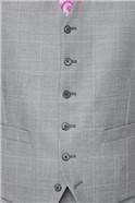 Light Grey Textured Check Soho Suit