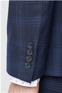 Navy Check Soho Suit
